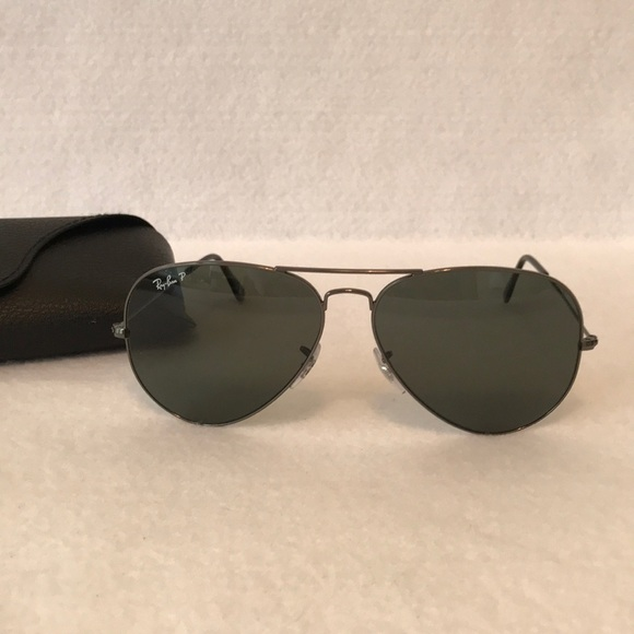 crazy price large discount on feet images of Ray Ban Unisex Aviator Sunglasses RB3025 Polarized